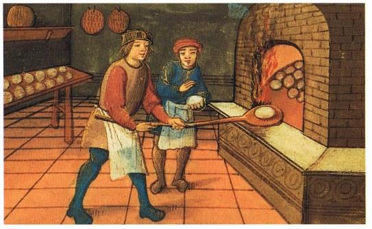 panadero medieval